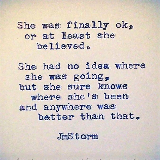 JM Storm Quote