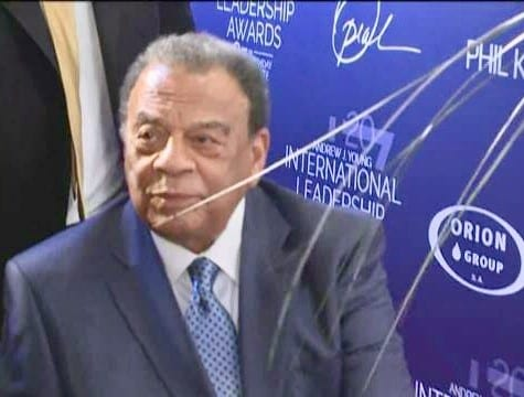 Andrew Young at Andrew Young International Leadership Awards #AYLead